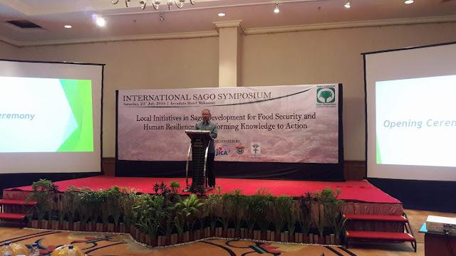 Buka Simposium Internasional, Wagub Sulsel Sebut Sagu Makanan Orang Cerdas