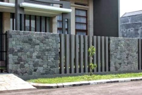 7 Gambar Pagar Tembok Minimalis Terbaru Info Rumah