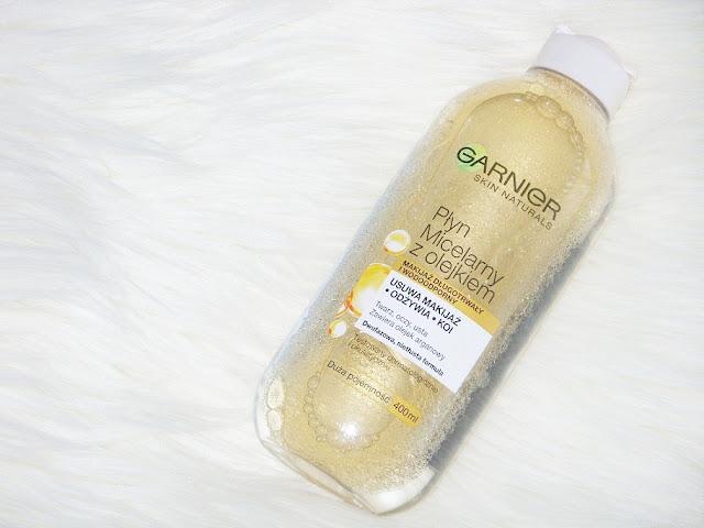 Płyn micelarny z olejkiem arganowym, Garnier
