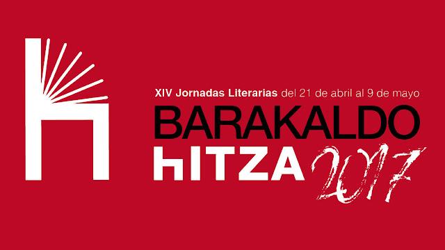 Cartel de las jornadas literarias de Barakaldo