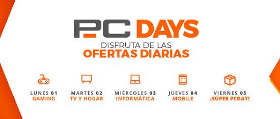 PcDays 2019 de PcComponentes post seguimiento promoción