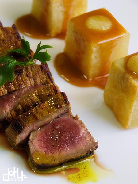 Pieza de carne espectacular
