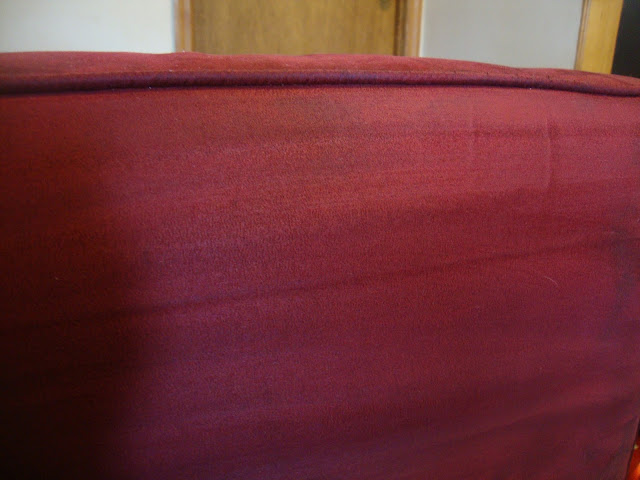 how to clean microsuede lounge