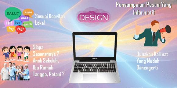 membuat desain grafis di laptop