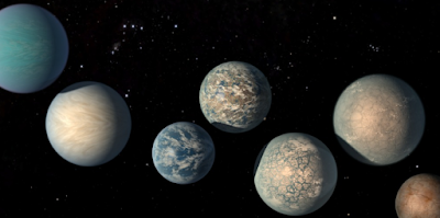 Potential habitable planets.