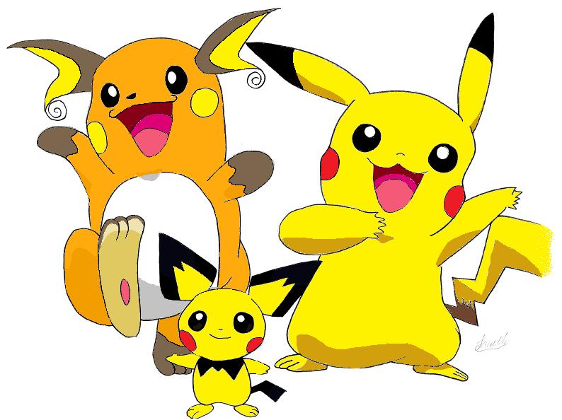 Docentes sin rumboPichu Pikachu Raichu