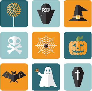Flat Halloween Vectors