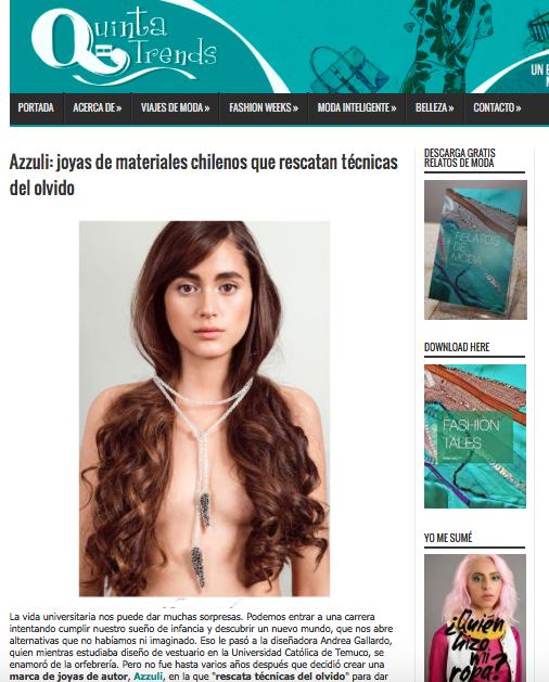 azzuli en quinta trends