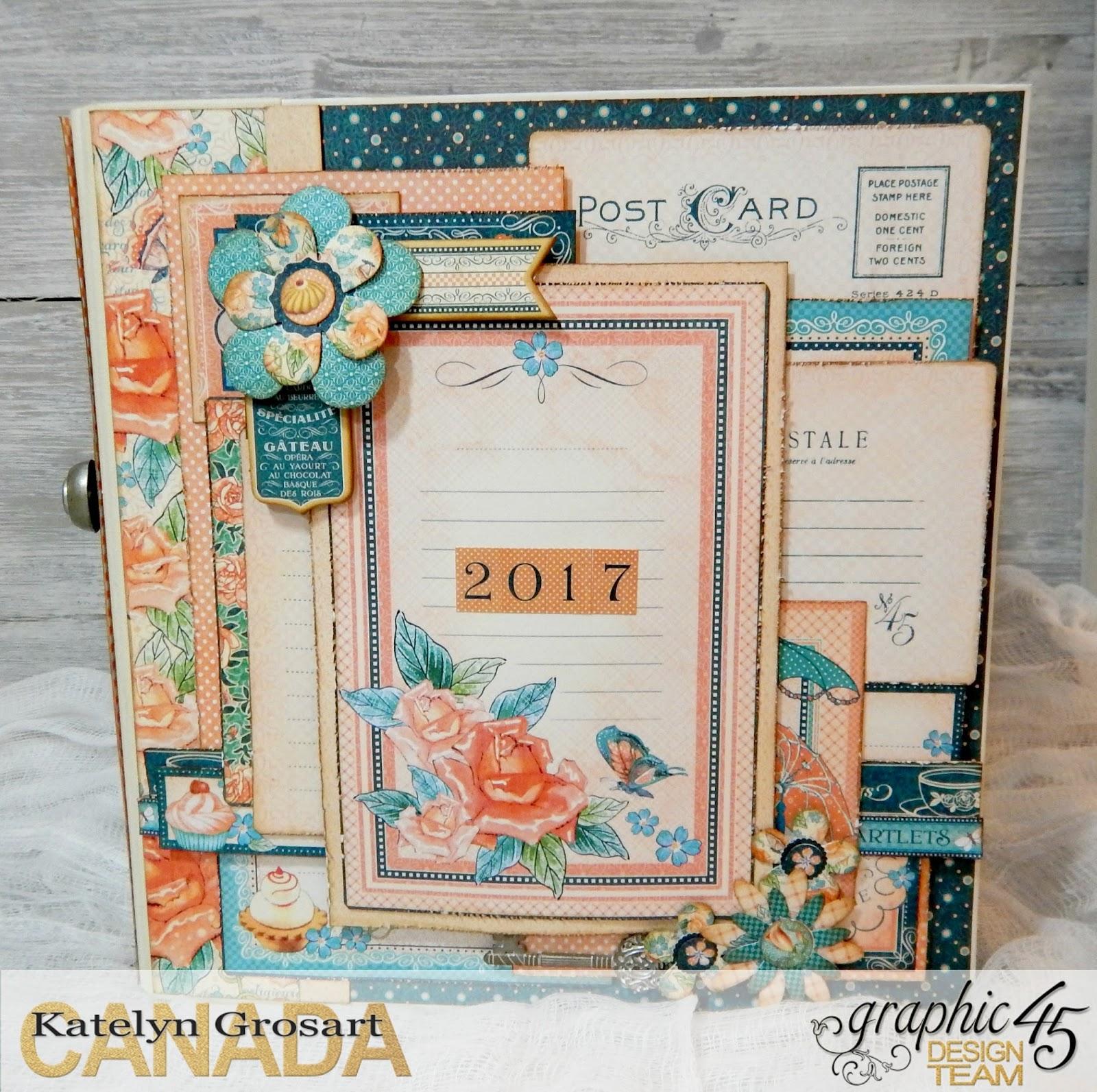 A Creative Journey 2017 Scrapbook Planner
