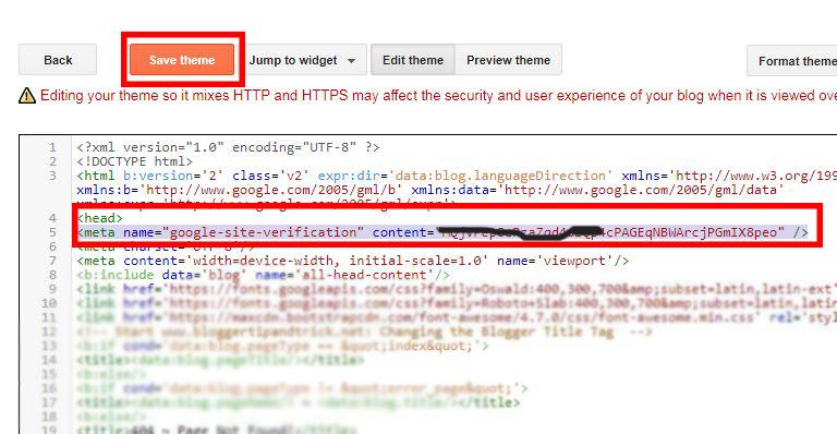 cara mendaftarkan blog ke webmaster tool