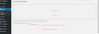 cara mengatasi gagal upload file ke wordpress