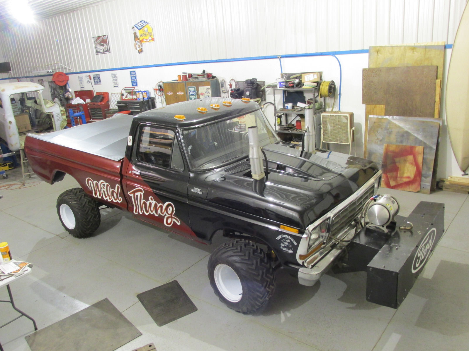 Find this 1979 ford f 250 wild thing here on ebay bidding for 5 000 located in lapeer mi with 4 days to go
