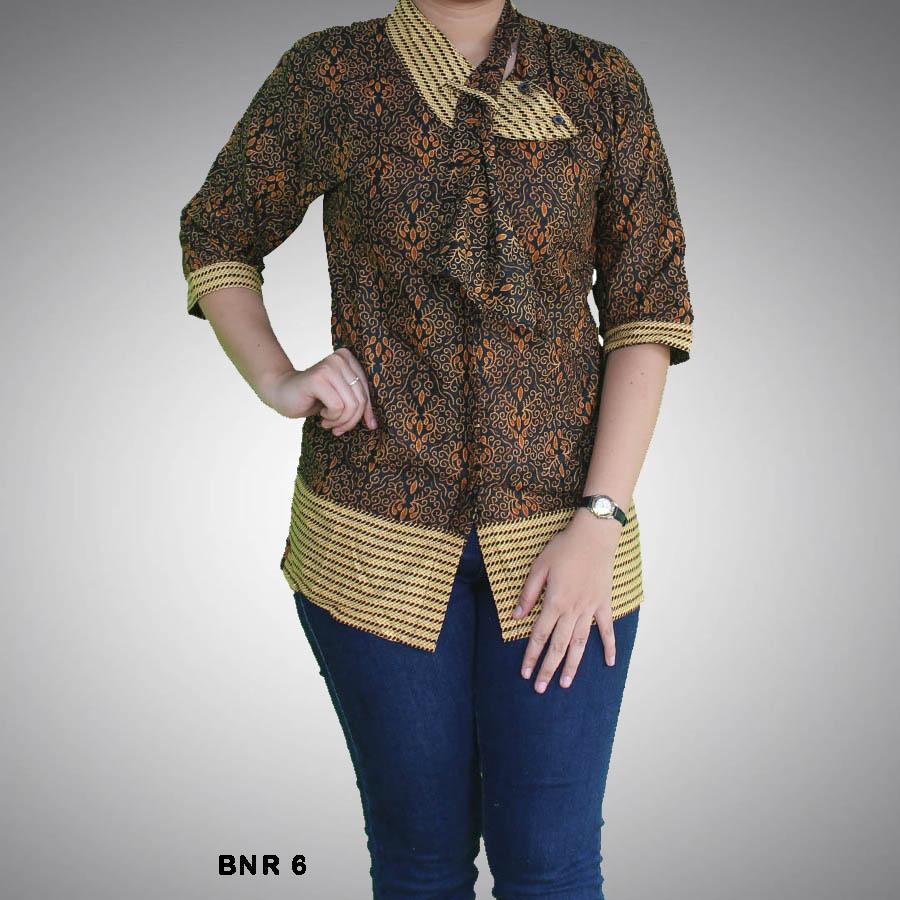 Download Baju Batik Wanita: Gambar Model Baju Batik Setelan Rok Panjang Fashion Modern