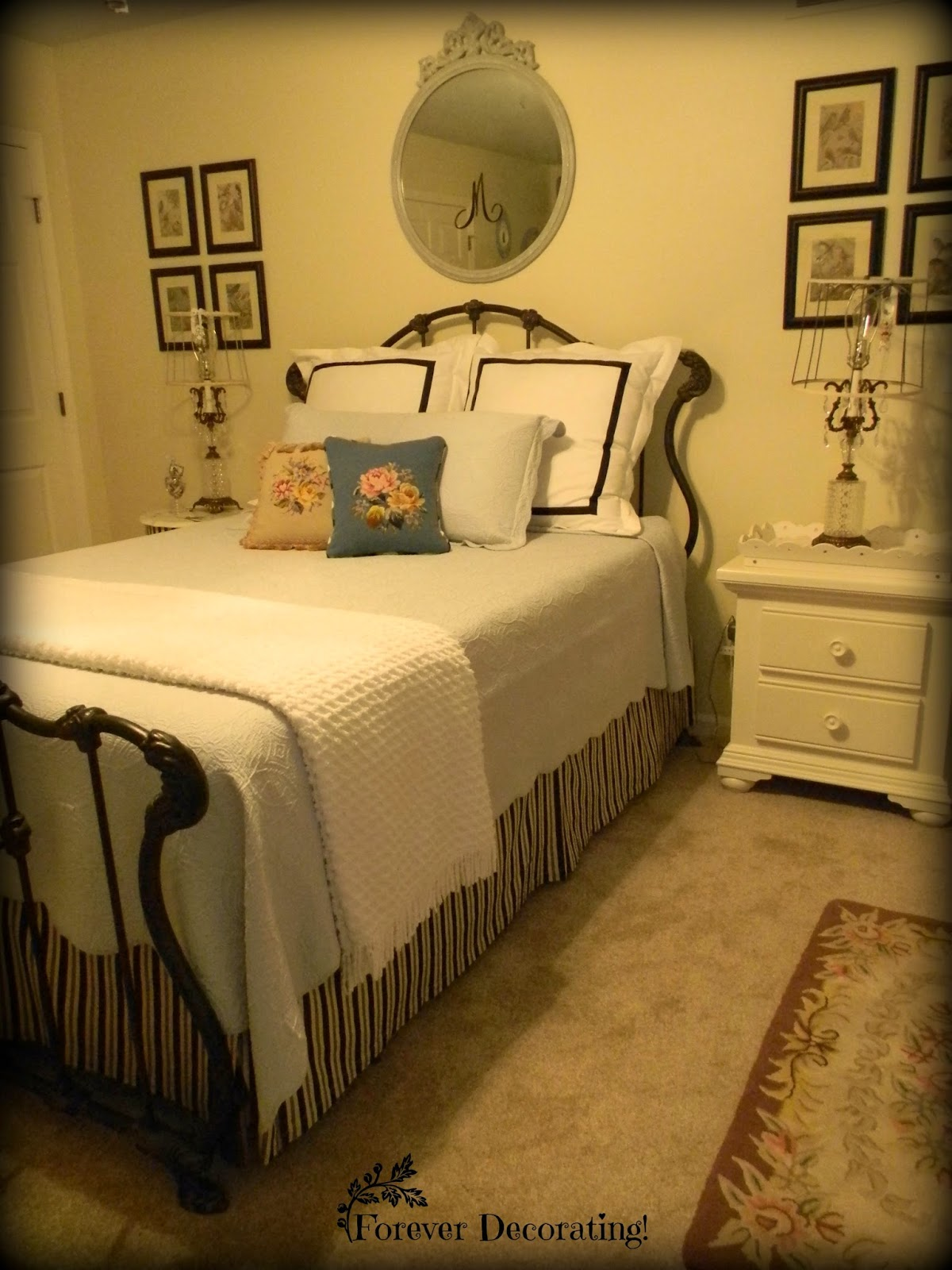 Forever Decorating Guest Bathroom Tour: Forever Decorating!: No Cost Decorating