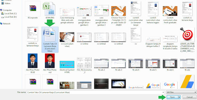 Cara upload file ke google drive - langkah 3