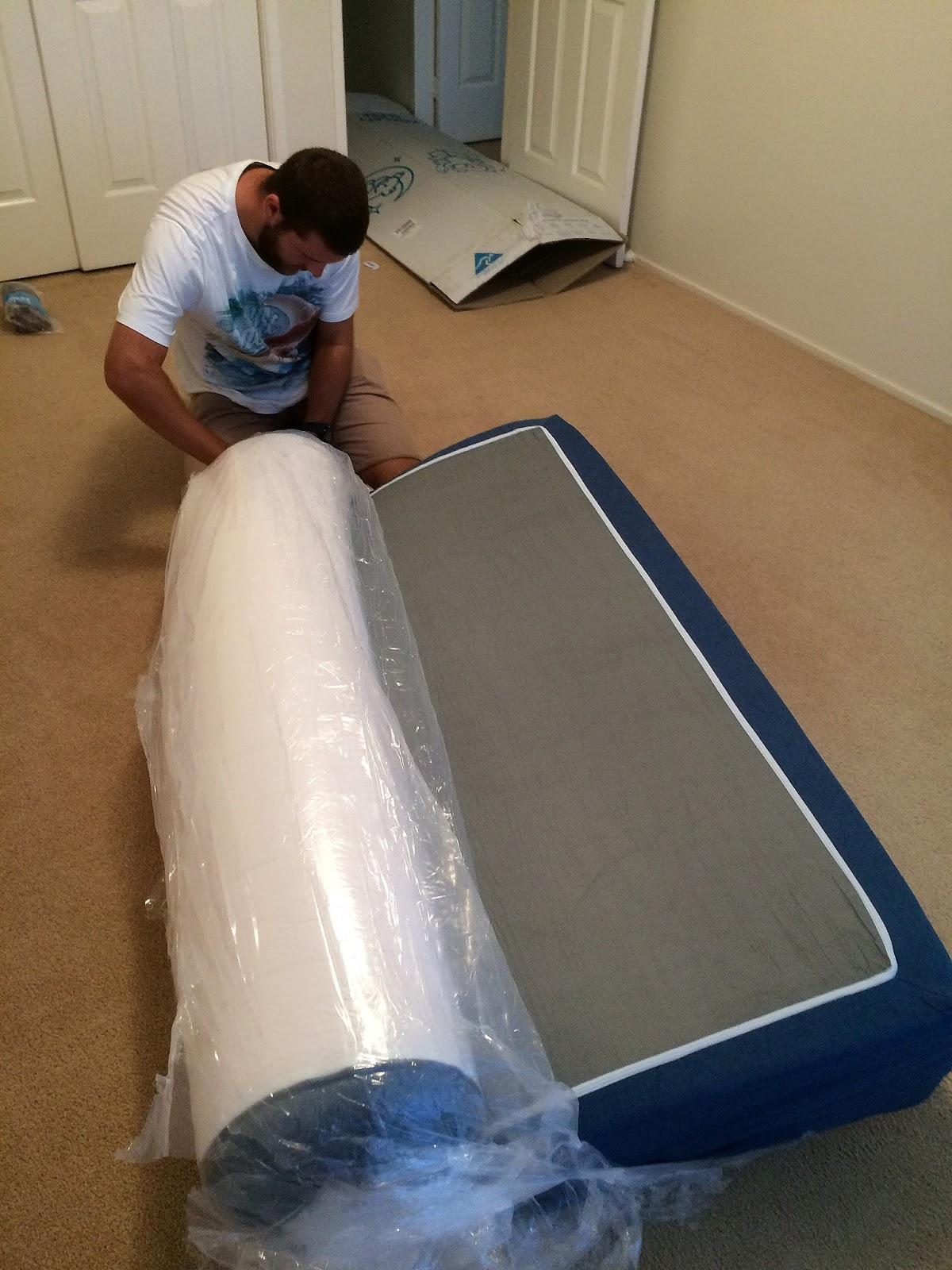 Unwrapping Koala Mattress