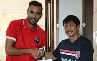 Eks Persib Bandung Marcos Flores Resmi Gabung Bali United