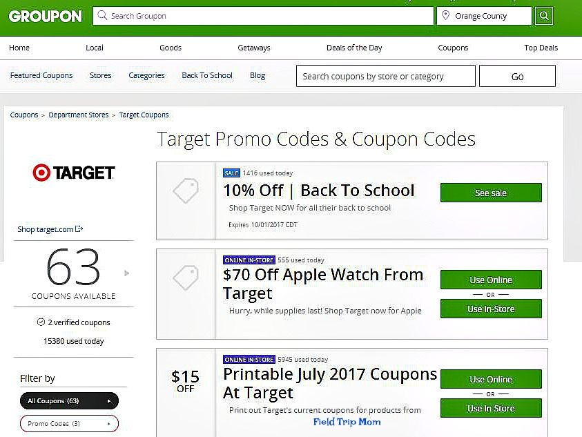68e0c80d23124 Field Trip Mom   Groupon Coupons are here to help you save money.