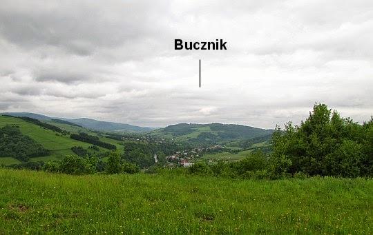 Panoramy z podejścia na Grzywacką Górę.