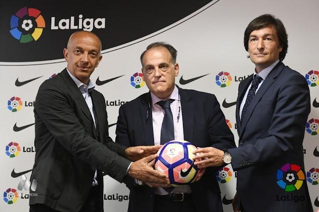 Nike renueva con LaLiga otros tres años más