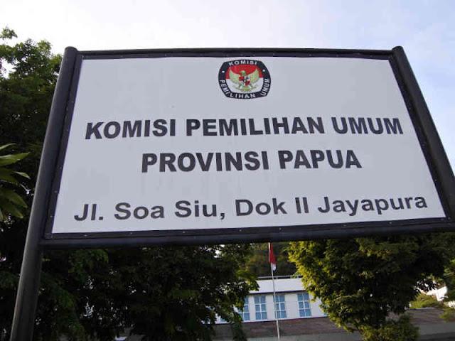 KPU Kesulitan Distribusi Logistik Ke Pegunungan Papua