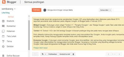 Belajar Blogspot Mulai Awal Terlengkap Dengan Gambar