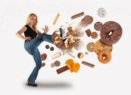 อาหารขยะ ลดน้ำหนัก ลดความอ้วน