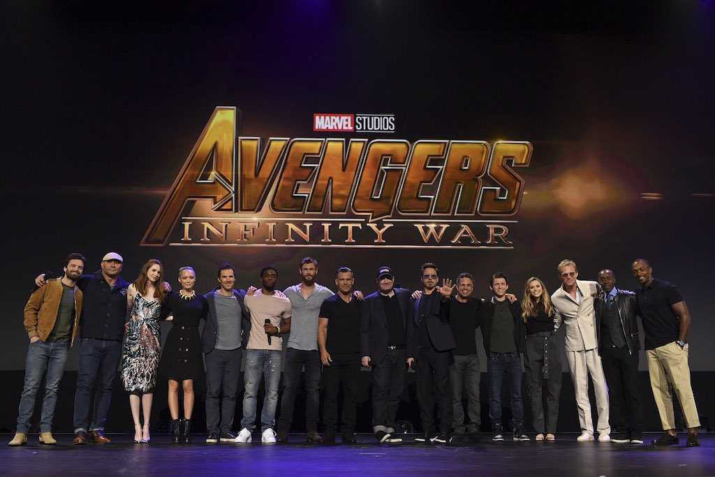 average socialite avengers infinity war world premiere la
