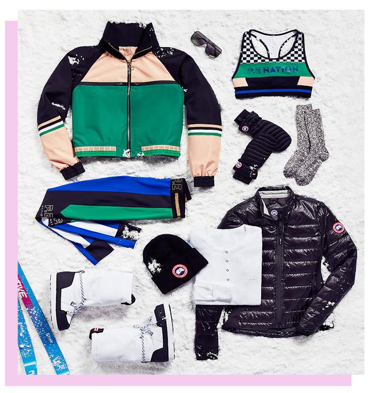 подборка вещей для катания на лыжах