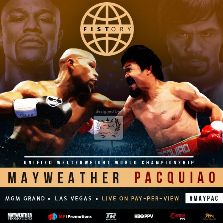 Mayweather contre Pacquiao — Wikipédia