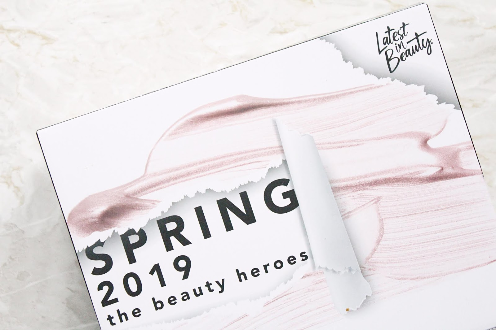 Latest in Beauty Spring 2019 The Beauty Heroes Box