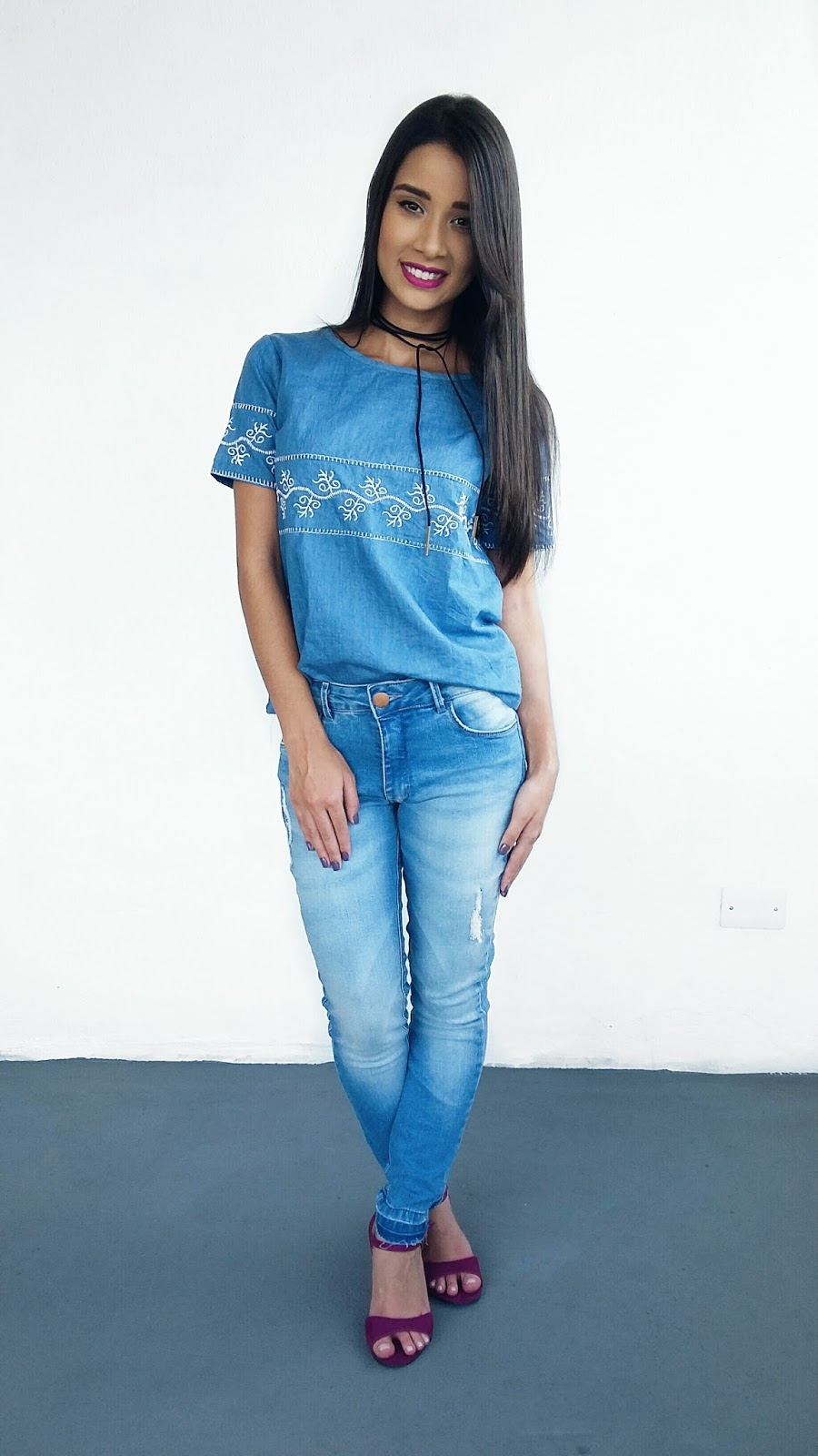 Look do Dia: Total Jeans