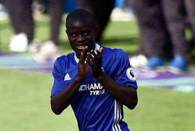 Real Madrid interested in Chelsea's midfielder N'Golo Kante
