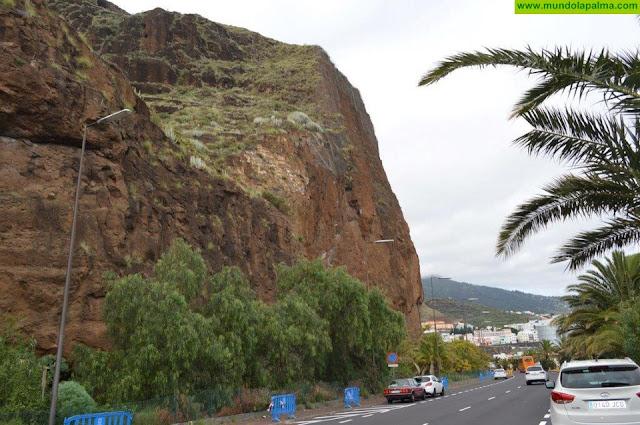 El Cabildo comienza las obras de emergencia en el Risco de la Concepción con la instalación de barreras de protección dinámicas