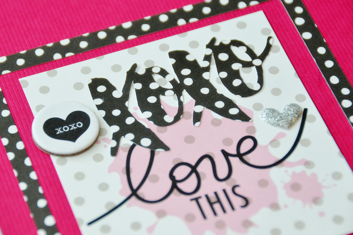 Love Scrapbook Page by Suzanna Lee featuring 17turtles Digital Cut File Hi Love Library Pocket