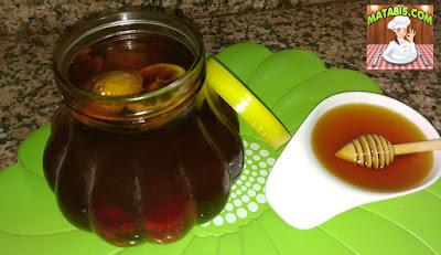 وصفة العسل المنسم