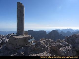 Cima de Torrecerredo, en el macizo central de Picos de Europa