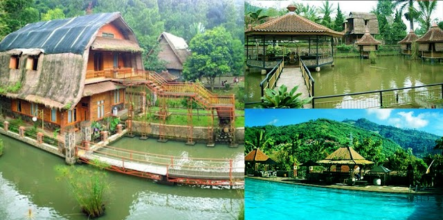 Istirahat di Kesejukan Alam Kampung Pa'go Resort, Ciwidey