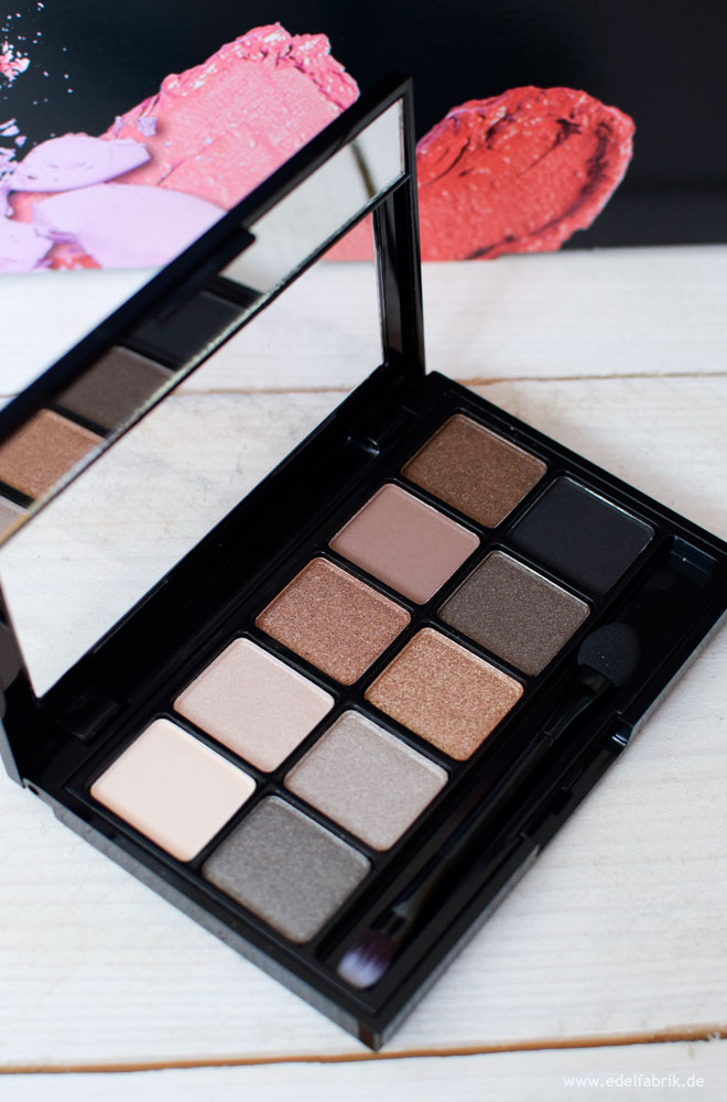 Rival de Loop, Nude Bronze, Eyeshadow Palette, Review