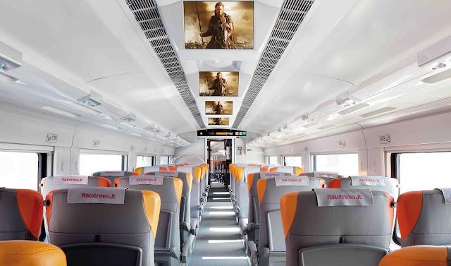 Trem da Italo na Itália - Economizando