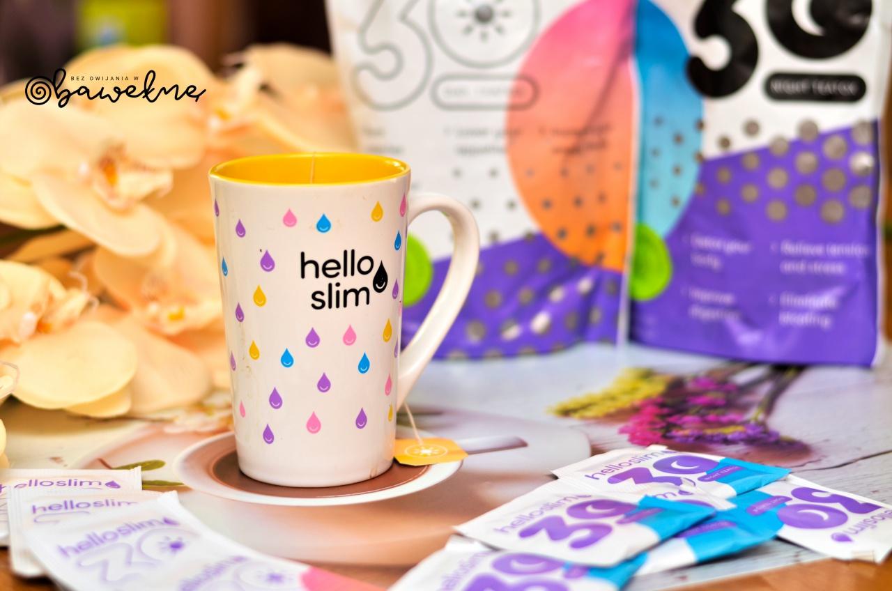 Hello slim czyli odpowiednia herbatka dla poprawy perystaltyki jelit.