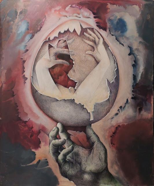 Alfons Oliver Ferrer pintura surrealista