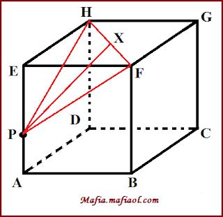 Gradien garis yang tegak lurus dengan garis. Contoh Soal Dan Pembahasan Menghitung Jarak Titik Ke Garis Pada Kubus