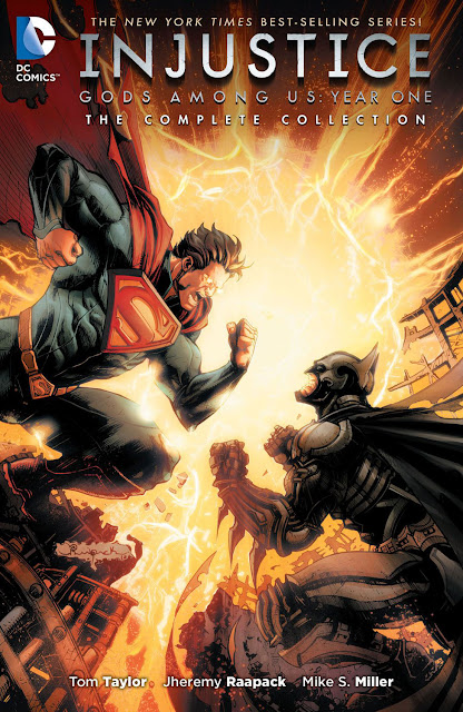 injustice gods among us year one dc comics
