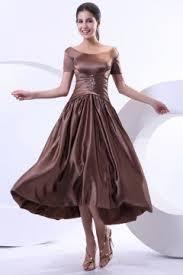 modelo de vestido de casamento marrom