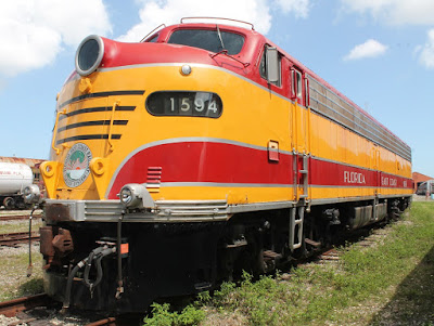 Locomotora de la Florida East Coast