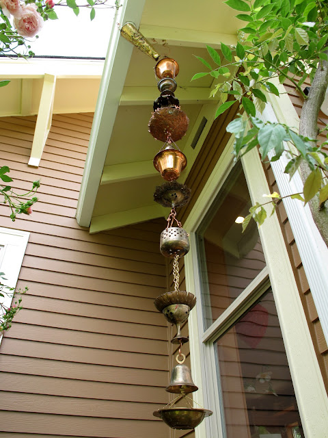Bea That As It Mae Upcycled Copper And Brass Rain Chain
