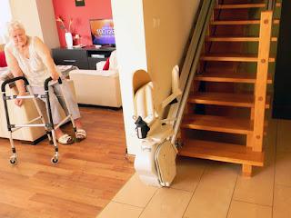 Ceny krzesełek schodowych prostych