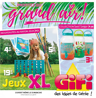 Catalogue GiFi 09 Mai au 17 Juillet 2017