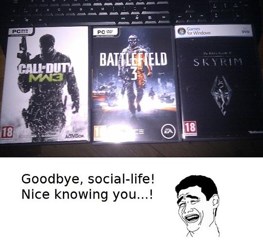 r.i.p. social life